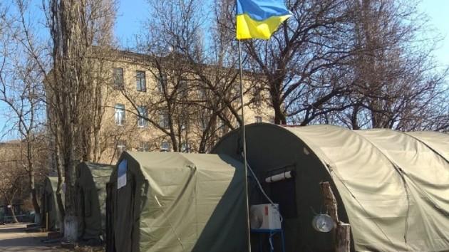На Донбассе начали массово тестировать военных на COVID-19