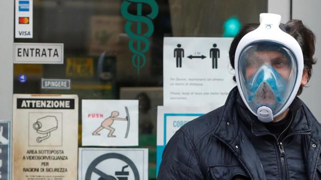 В Италии от коронавируса умерло более восьми тысяч человек