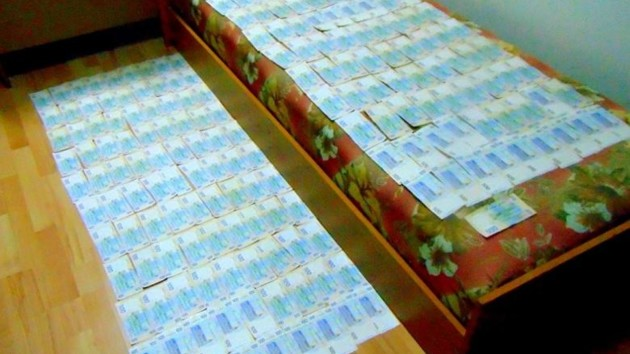 В Киеве поймали грабителей, напавших на почтовое отделение: фото и видео
