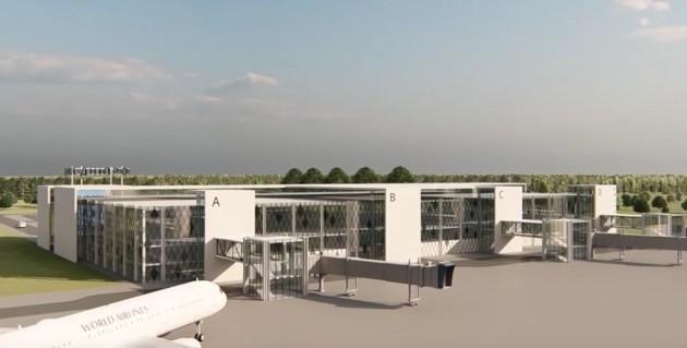 Строительство аэропорта в Днепре снова откладывается