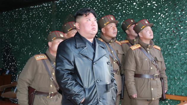 Северная Корея запустила неопознанный снаряд в направлении Японского моря