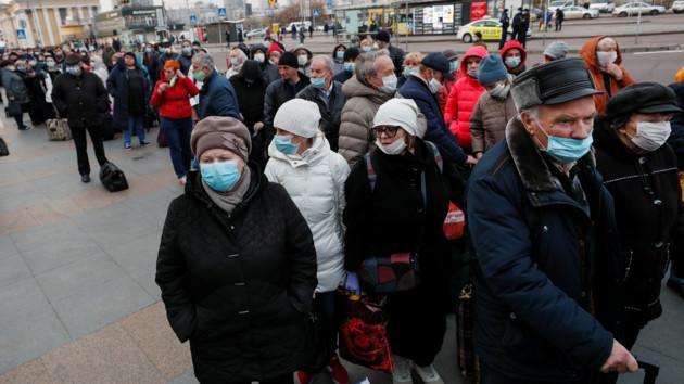 В Украине зафиксирован рекордный скачок заражений коронавирусом