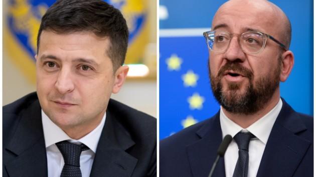 Зеленский созвонился с президентом Евросовета: подробности разговора