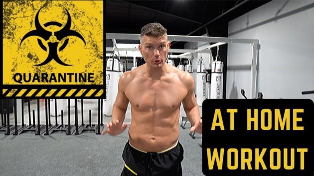 Горячая мужская аэробика от бойца UFC: коротенькие шорты и зажигательная музыка взорвали сеть