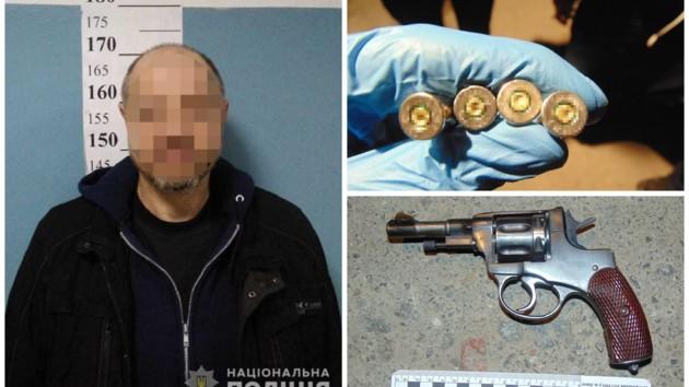 Мешал проехать: в Киеве мужчина расстрелял байкера
