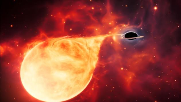 Во Вселенной обнаружен новый вид черных дыр