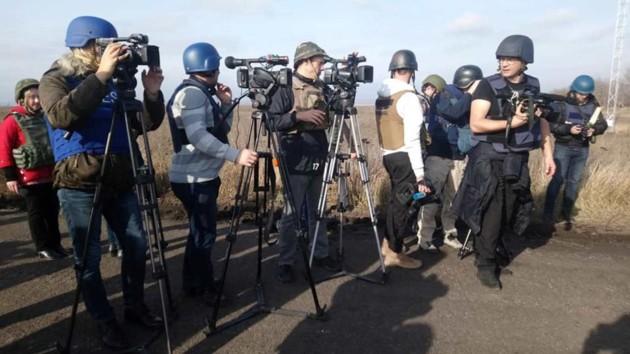 Обстрел журналистов на Донбассе: начато расследование