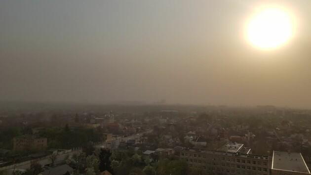 Загрязнения воздуха в Киеве: карта и советы доктора Комаровского