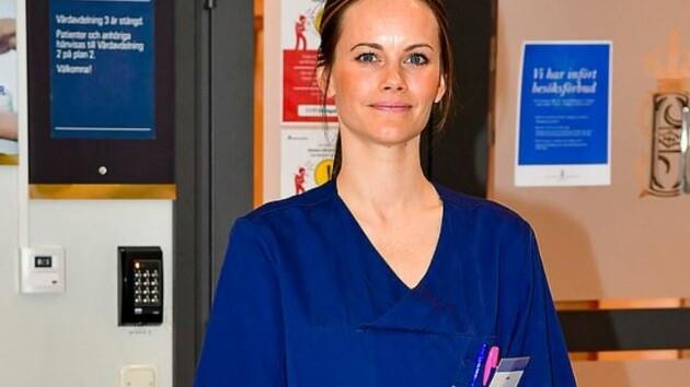 Нужно спасать людей от коронавируса: принцесса Швеции пошла работать в больницу, фото
