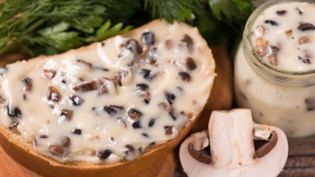 Как сделать домашний плавленый сыр с грибами