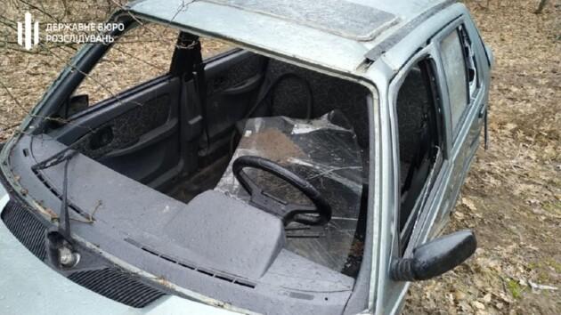 В Луганской области два копа украли машину с места ДТП (фото)
