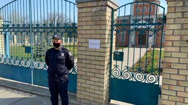 Карантин и Пасха: возле церквей под Киевом будут дежурить сотни полицейских
