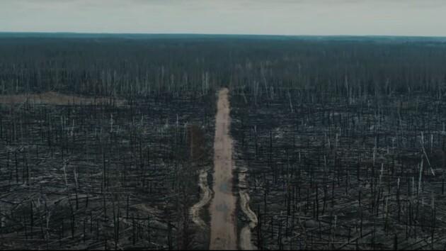 «Ощущение апокалипсиса»: Чернобыльскую зону после пожаров показали с высоты (видео)
