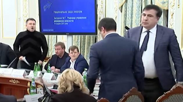 Саакашвили рассказал об отношениях с Аваковым и уже хочет лишить МВД одной функции