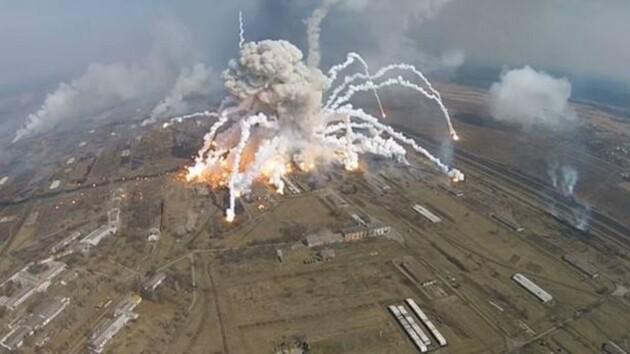 Подорванная военная мощь Украины: новая версия взрывов в Балаклее