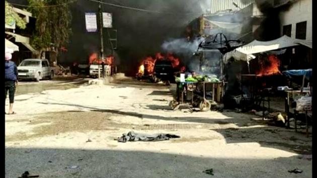 В сирийском городе прогремел взрыв: десятки жертв