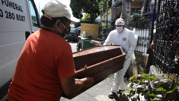 Бразилия обогнала Великобританию по числу жертв коронавируса