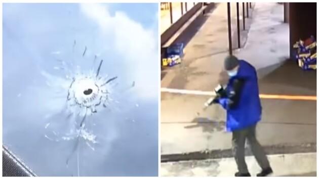 На столичной Троещине идет война за рынок: от обстрела страдают жилые дома