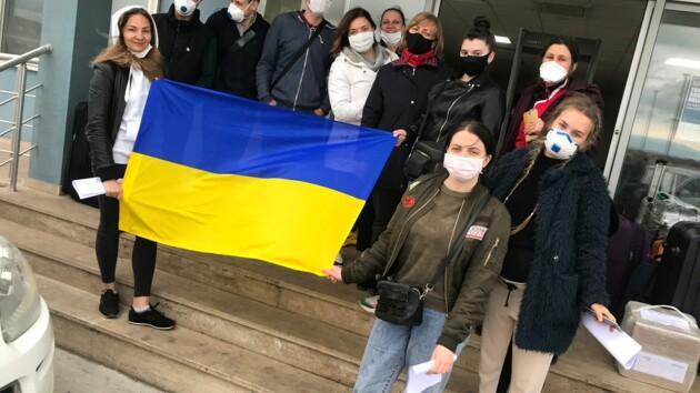 Из Турции домой возвращаются еще 38 украинцев