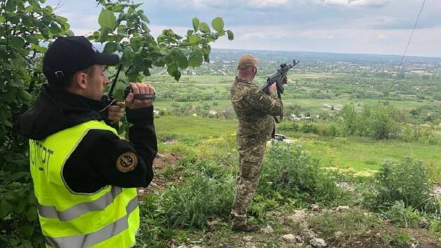 На Донбассе проводят следственный эксперимент по делу Маркива: фото