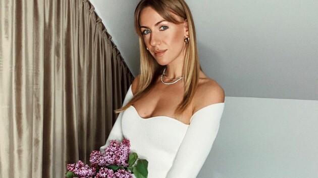 """""""Леди Дот"""": Леся Никитюк очаровала Сеть трендовым нарядом"""