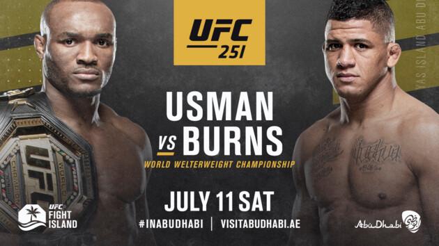 Три чемпионских боя и битва красоток: представлен официальный кард турнира UFC 251