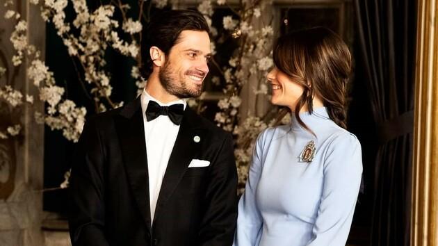 Принц Швеции Карл Филипп и принцесса София показали ранее не опубликованные свадебные фото