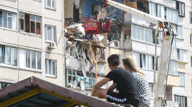 Взрыв дома в Киеве: неизвестной остается судьба еще трех человек