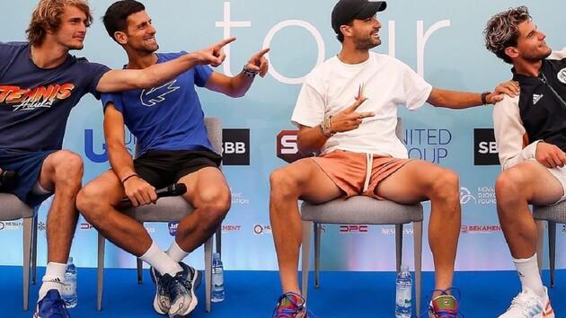 Скандал в теннисе: танцевал и давал пять зараженному COVID-19, но отказался от теста на коронавирус