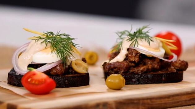 Как сделать датский бутерброд: пошаговый рецепт от Григория Германа