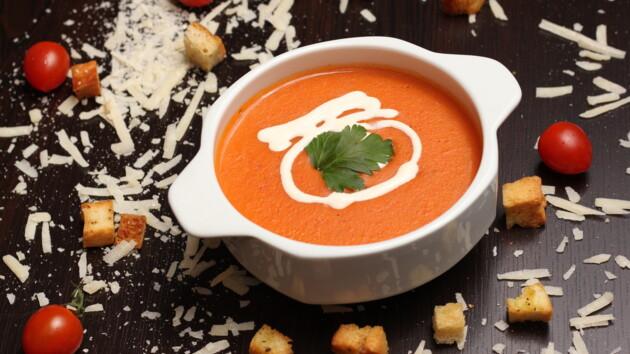 Рецепт итальянского томатного супа от ведущего Виталия Школьного