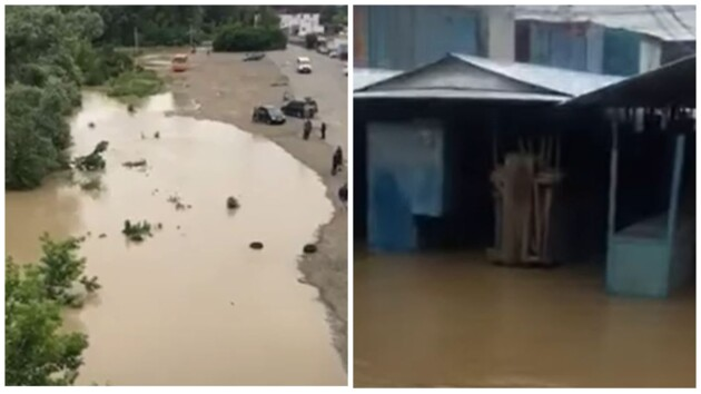 После удара стихии на западе Украины остаются подтоплены пять населенных пунктов
