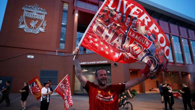 """Как же долго этого ждали: только пять игроков """"Ливерпуля"""" были рождены до предыдущего триумфа команды"""