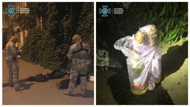 Попытка теракта в Одессе: СБУ задержала двоих неонацистов (фото)