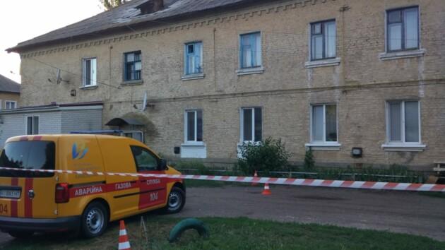 Под Киевом в жилом доме рухнула крыша