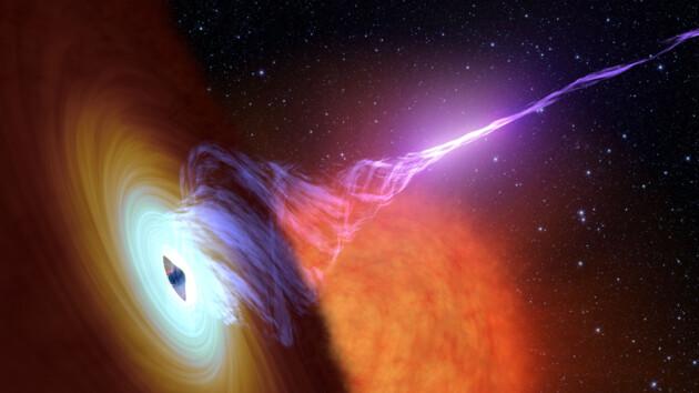 Черная дыра со вселенским голодом съедает по Солнцу в день