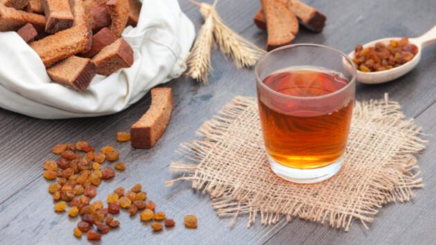 Как приготовить вкусный домашний квас: ТОП-5 рецептов