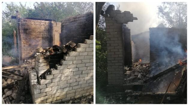 На Донбассе оккупанты обстреляли жилой сектор Авдеевки