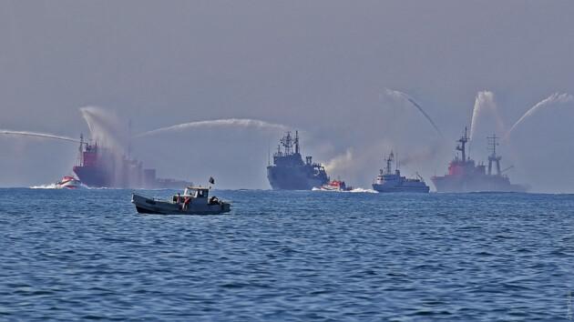 В Одессе ждут Зеленского: репетируют масштабный морской парад (фото)
