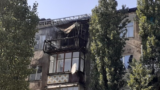 Пострадавшую при пожаре хрущевку полиция взяла под охрану от мародеров