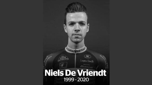 Во время первой гонки после карантина умер 20-летний велонгонщик