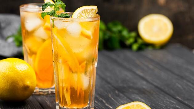Как сделать холодный цитрусовый чай с мятой