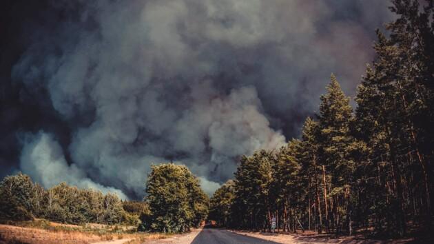 Масштабный пожар в Луганской области: число жертв увеличилось