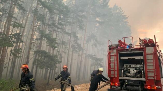 Ликвидация пожара в Луганской области продолжается: что известно