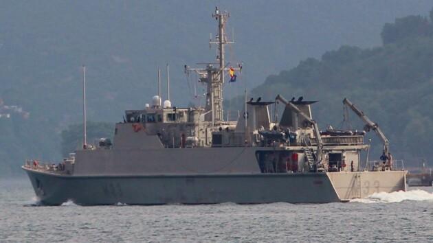 В Черное море зашли корабли НАТО: фото
