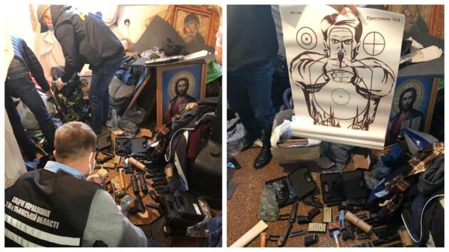 Во Львовской области священник попался на торговле оружием (фото)