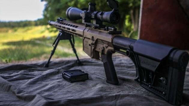 Нацгвардейцы испытали новое украинское снайперское оружие: фото