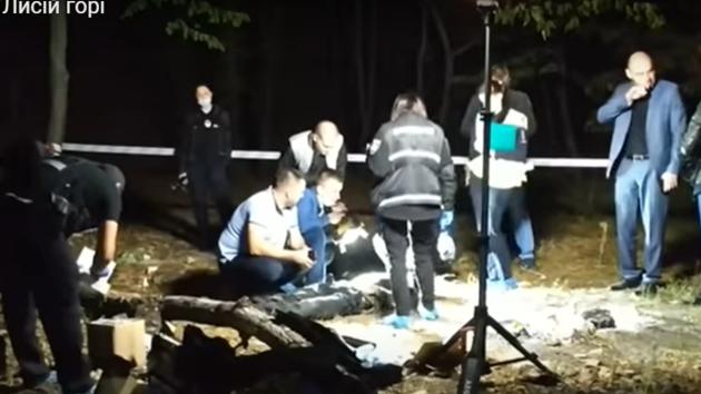 В Киеве на Лысой горе нашли тело мужчины с ножницами в шее