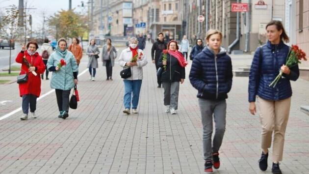 """""""Цветочный марш"""" в Белоруси"""