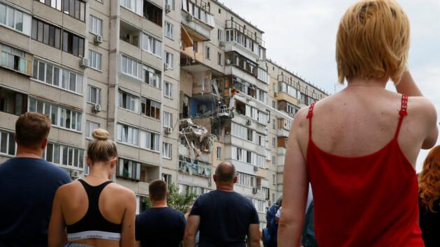 Взрыв на Позняках: Кличко показал, куда переселили киевлян из аварийного дома (видео)